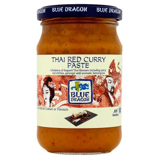 Blue Dragon Thai Red Curry Paste 285 g
