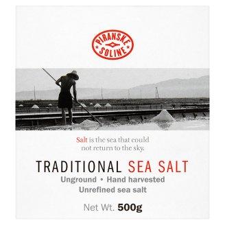 Piranske Soline durva szemcsés, adalék mentes tengeri só 500 g