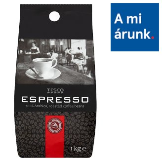 Tesco Espresso Roasted Coffee Beans 1 kg