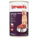 Brunos Complete Pet Food for Adult Dogs Meat Chunks with Beef in Gravy 1240 g