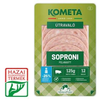 Kométa Mindennap finom! Soproni Sliced Cold Cuts 125 g