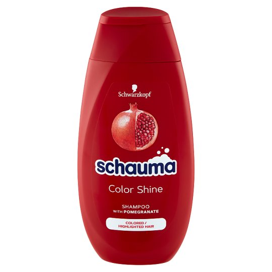 Schauma Color Shine Shampoo for Colored, Tinted or Highlighted Hair 250 ml