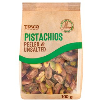 Tesco Peeled & Unsalted Pistachios 100 g