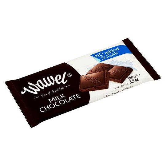 Wawel No Added Sugar Milk Chocolate with Sweetener 100 g