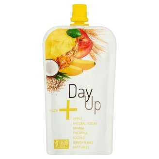 Day Up Apple Puree with Natural Yoghurt, Banana, Pineapple, Coconut, Quinoa & Oat Flakes 120 g