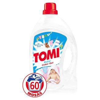 Tomi Baby Color folyékony gél mosószer színes ruhákhoz 60 mosás 3,96 l