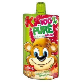 Kubu Apple-Carrot-Banana-Raspberry Puree with Pulp 100 g