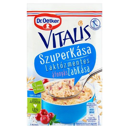 Dr. Oetker Vitalis Szuperkása laktózmentes áfonyás zabkása alappor 55 g