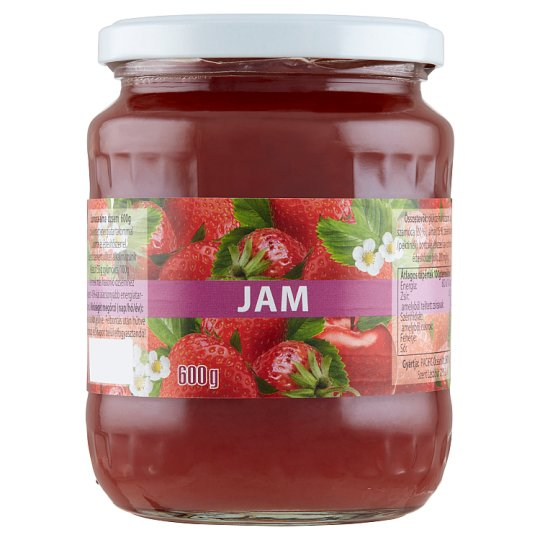 Jam Strawberry-Apple Jam with Reduced Sugar Content 600 g