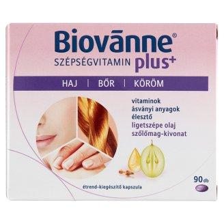 Biovanne Szépségvitamin plus+ étrend-kiegészítő kapszula 90 db 64,35 g