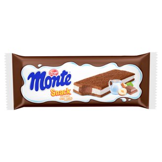 Zott Monte Sponge Cake With a Creamy Filling of Milk, Chocolate and Hazelnuts 29 g