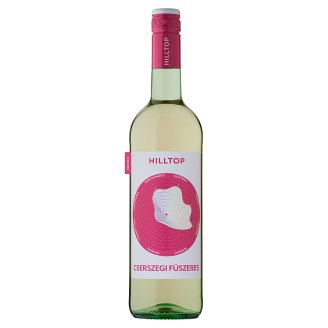 Hilltop Neszmélyi Cserszegi Fűszeres száraz fehér bor 12% 75 cl