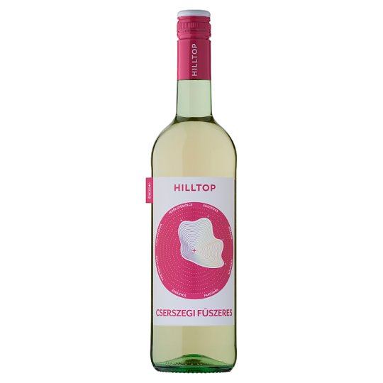 Hilltop Neszmélyi Cserszegi Fűszeres Dry White Wine 10,5% 75 cl
