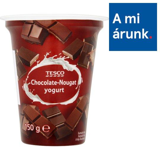 Tesco Chocolate-Nougat Yogurt 150 g