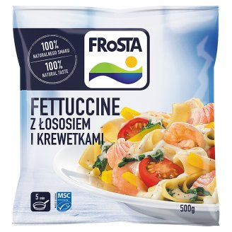 FRoSTA Quick-Frozen Fettuccine with Salmon and Shrimps 500 g