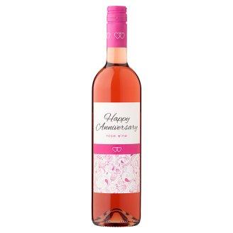 Wine Concept Happy Anniversary Felső-Magyarországi Rozé Cuvée édes rozébor 11,5% 0,75 l