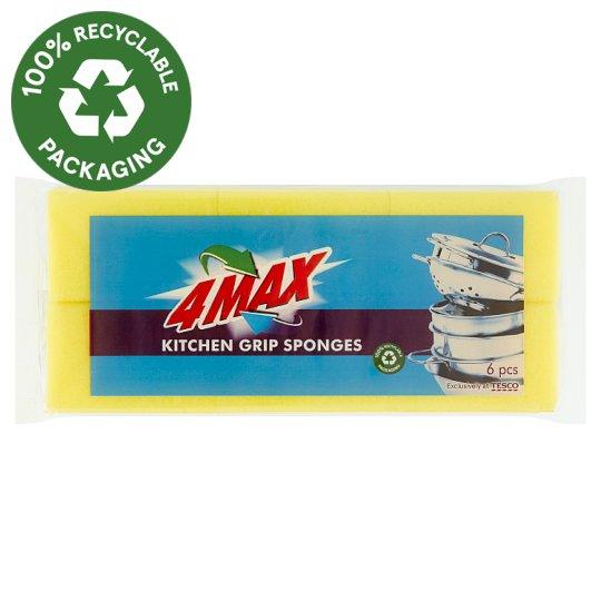 4MAX mosogatószivacs 6 db