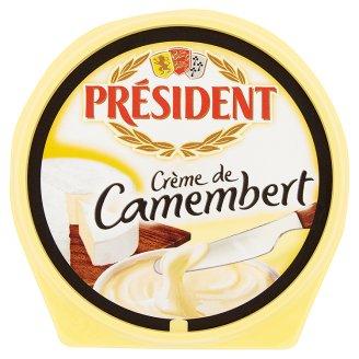 Président Créme de Camembert camembert ízű kenhető, zsíros ömlesztett sajt 150 g