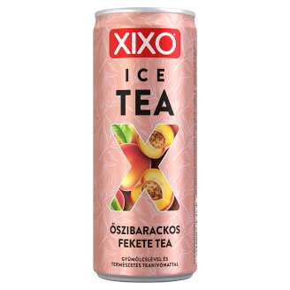XIXO Ice Tea őszibarackos jegestea 250 ml