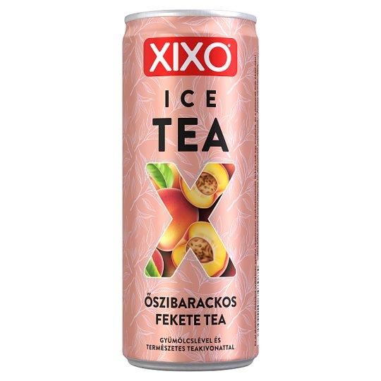 XIXO Ice Tea őszibarackos jegestea 250 ml