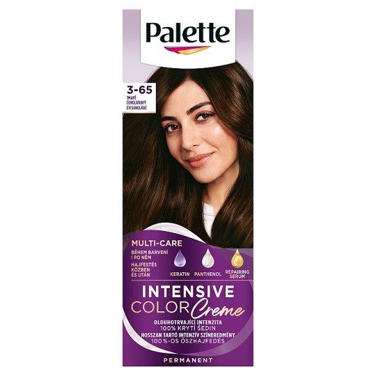 Schwarzkopf Palette Intensive Color Creme intenzív krémhajfesték 3-65 étcsokoládé (W2)