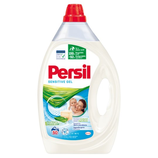 Persil Sensitive Gel Liquid Detergent 50 Washes 2,5 l