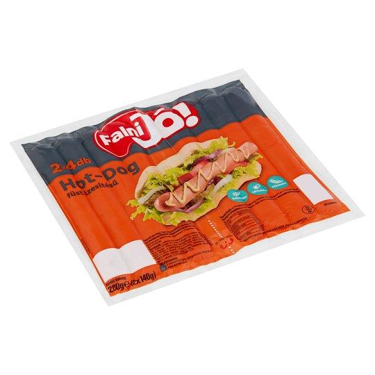 Falni Jó! füst ízesítésű hot-dog 2 x 140 g