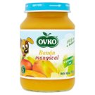 Ovko Gluten- and Dairy-Free Banana with Mango Dessert for Babies 5+ Months 190 g