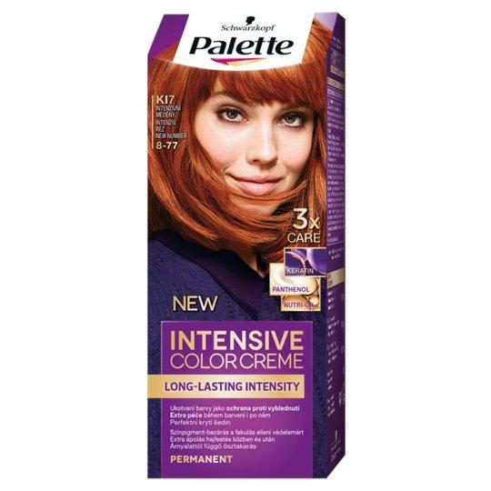 Schwarzkopf Palette Intensive Color Creme Intense Cream Hair Colorant 8-77 Intense Copper (KI7)