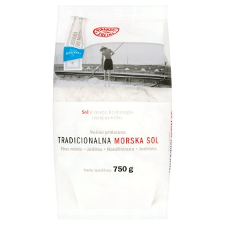 Piranske Soline Traditional Sea Salt 750 g
