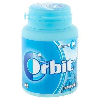 Orbit Peppermint mentaízű cukormentes rágógumi édesítőszerrel 46 db 64 g