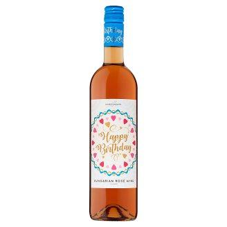 Wine Concept Happy Birthday Felső-Magyarországi Rozé Cuvée édes rozébor 11,5% 0,75 l