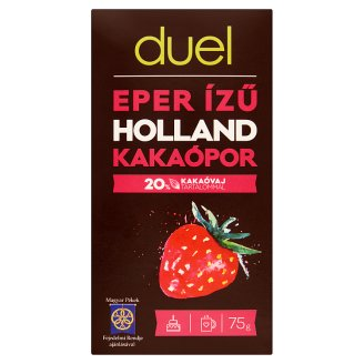 Duel Strawberry Flavoured Dutch Cocoa Powder 75 g