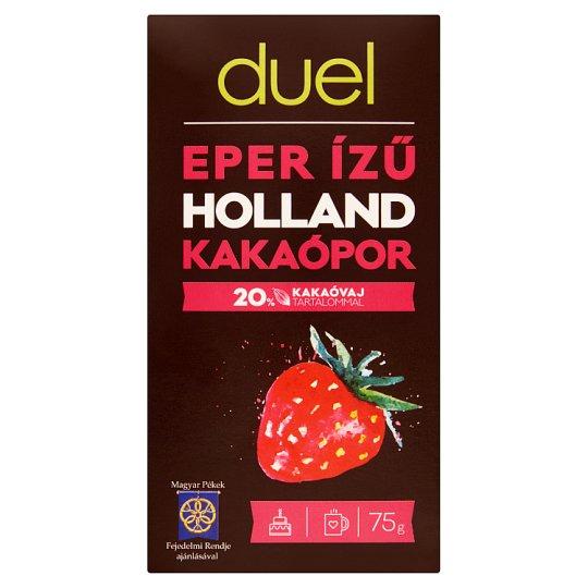 Duel Strawberry Flavoured Dutch Cocoa Powder 75 g