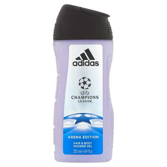 Adidas UEFA Champions League Arena Edition tusfürdő és sampon egyben férfiaknak 250 ml