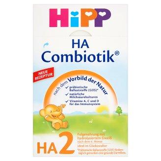 HiPP HA 2 Combiotik tejalapú hypoallergén anyatej-kiegészítő tápszer 6 hónapos kortól 500 g