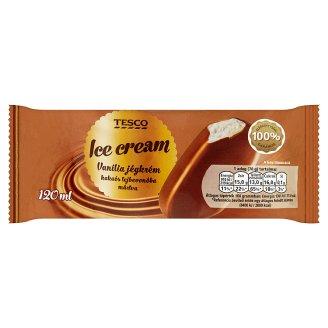 Tesco Vanilla Ice Cream Coated in Milk Compound 120 ml