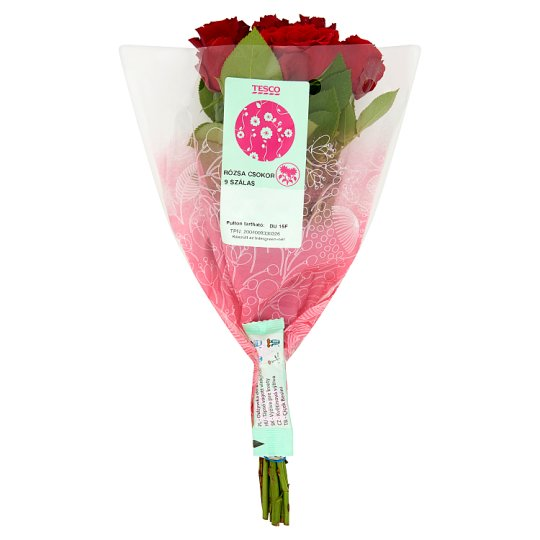 Tesco Rose Bouquet 9 Thread in 4 Colors