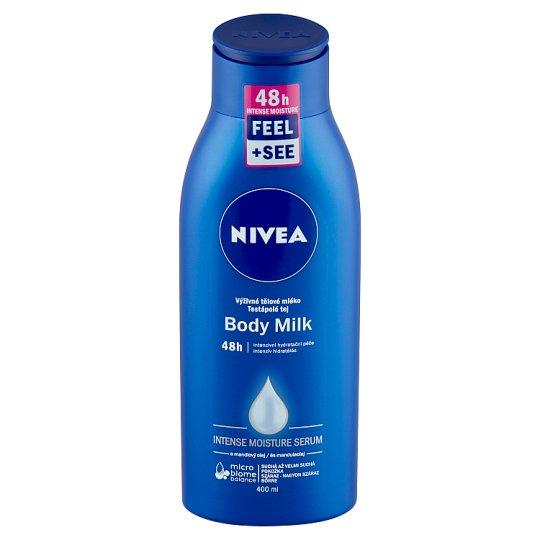 NIVEA intenzív testápoló tej száraz és nagyon száraz bőrre 400 ml
