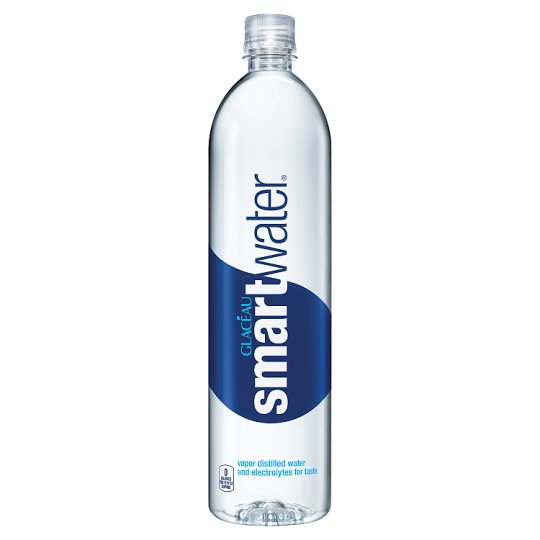 Glacéau Smartwater Vapour Distilled Water with Added Mineral Salts for Taste 1,1 l