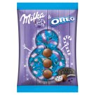 Milka & Oreo alpesi tejcsokoládé tejszínes krémtöltelékkel és kakaós kekszdarabokkal 86 g