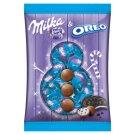 Milka & Oreo Alpine Milk Chocolate with Vanilla Flavoured Milky Cream and Cocoa Biscuit Pieces 86 g