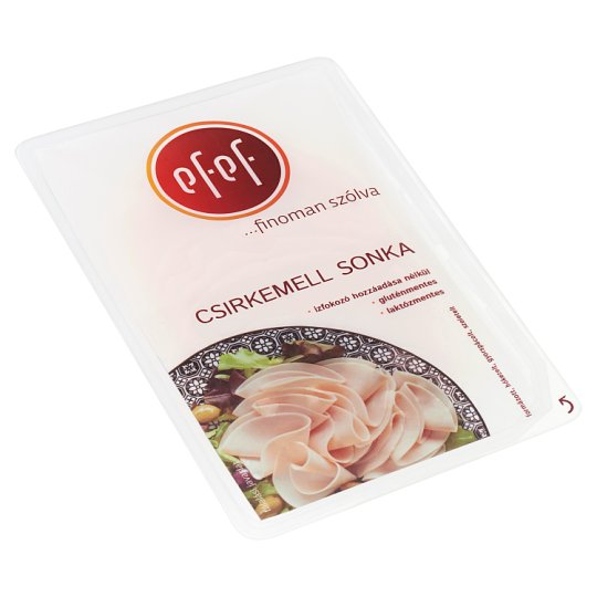 eFeF Sliced Chicken Breast Ham 100 g