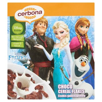 Cerbona Disney Frozen Chocolate Cereal Flakes 225 g