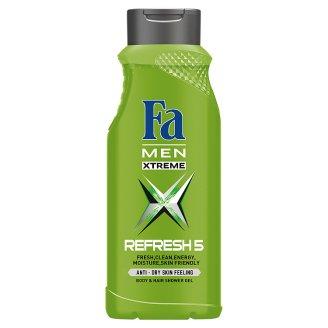 Fa Men Xtreme Refresh 5 Shower Gel 400 ml