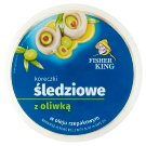 Contimax Marinated Herring Fillet Rolls in Vegetable Oil with Olives 200 g