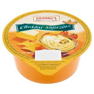 Granny's cheddar sajtszósz 90 g