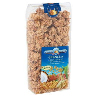 bio king organic crunchy granola 375 g tesco groceries. Black Bedroom Furniture Sets. Home Design Ideas