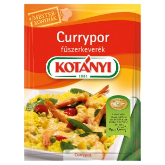 Kotányi Mesterkonyhák Curry Powder Seasoning Mix 27 g