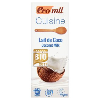 EcoMil Cuisine Organic Culinary Preparation Made with Coconut Milk 200 ml